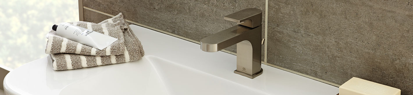 DXV Lyndon Single Lever Bathroom Faucet Banner
