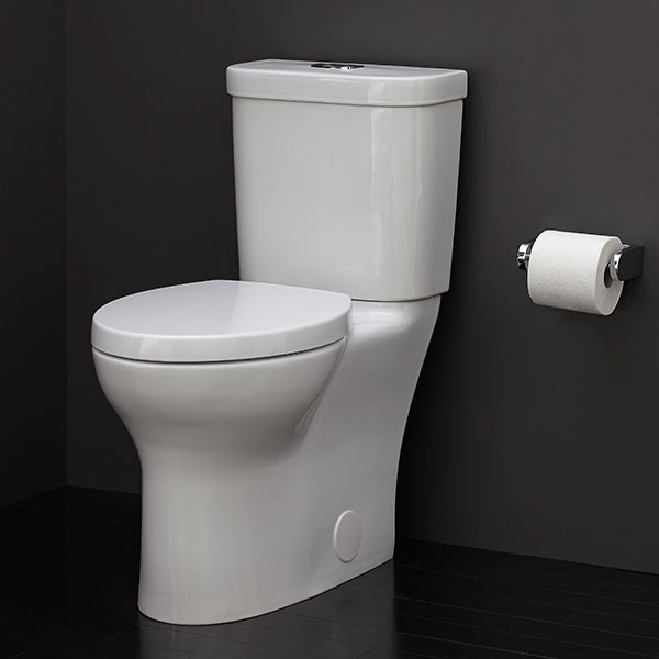 Lyndon Two Piece Elongated Dual Flush Toilet