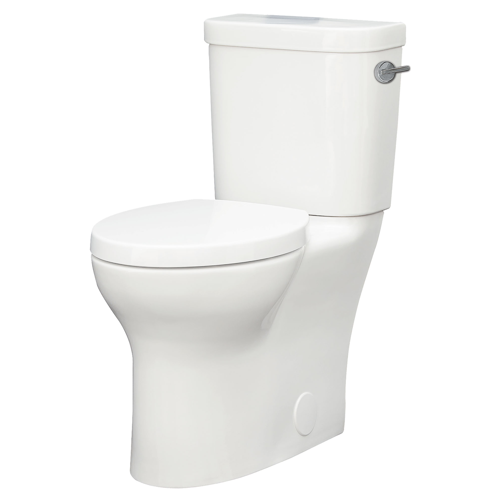Lyndon Two-Piece Right Height Elongated Toilet with Left-Hand Trip Lever - Projects Model