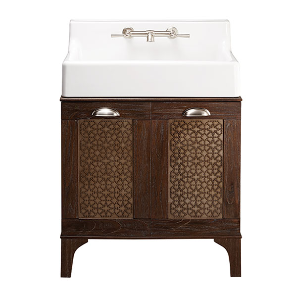 Oak Hill Bathroom Sink Vanity | Weathered Oak | DXV