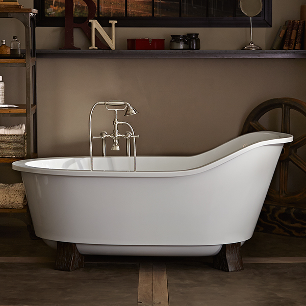 Soaking Tubs- Oak Hill Freestanding Soaking Tub with Feet from DXV