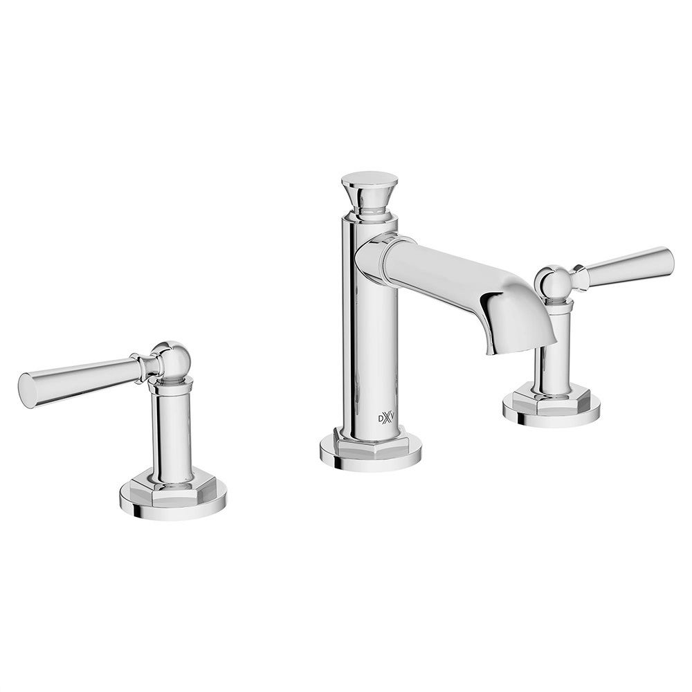 Oak Hill High Spout Widespread with Lever Handles