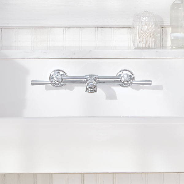 Bathroom Faucets- Oak Hill Wall Mount Bathroom Faucet from DXV