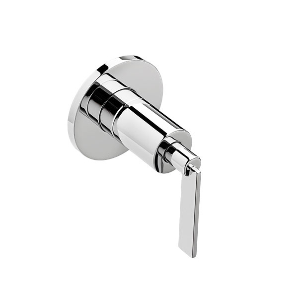 Percy 1/2 Inch or 3/4 Inch Wall Valve Trim with Lever Handle