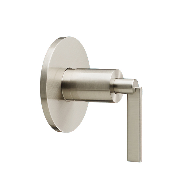 DXV Percy 4/3 or 3/2 Diverter Valve Trim with Lever Handle - Brushed Nickel
