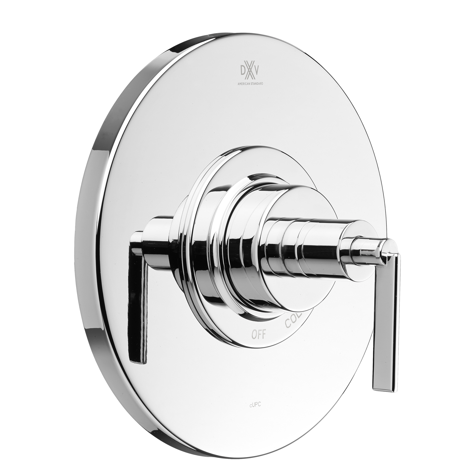 Percy Pressure Balance Shower Valve Trim With Cross Handles and Cartridge