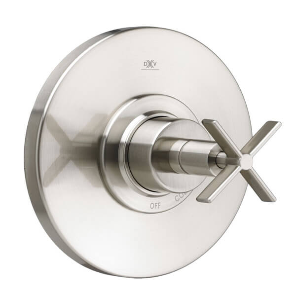Percy Pressure Balanced Shower Trim with Cross Handle