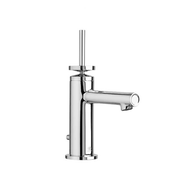 DXV Percy Single Lever Bathroom Faucet with Stem Handle- Polished Chrome