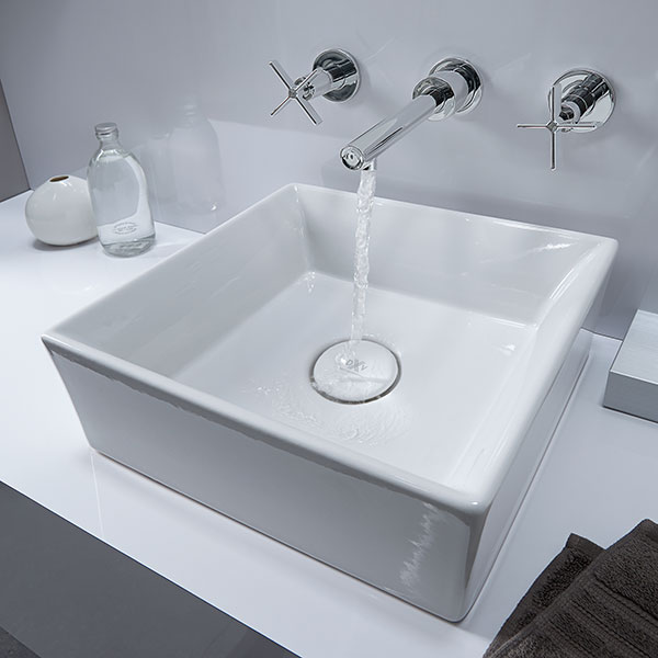 percy wallmounted vessel faucet with cross handles