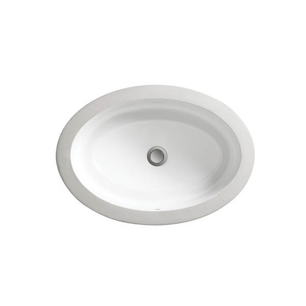 Pop Petite Oval Under Counter Bathroom Sink