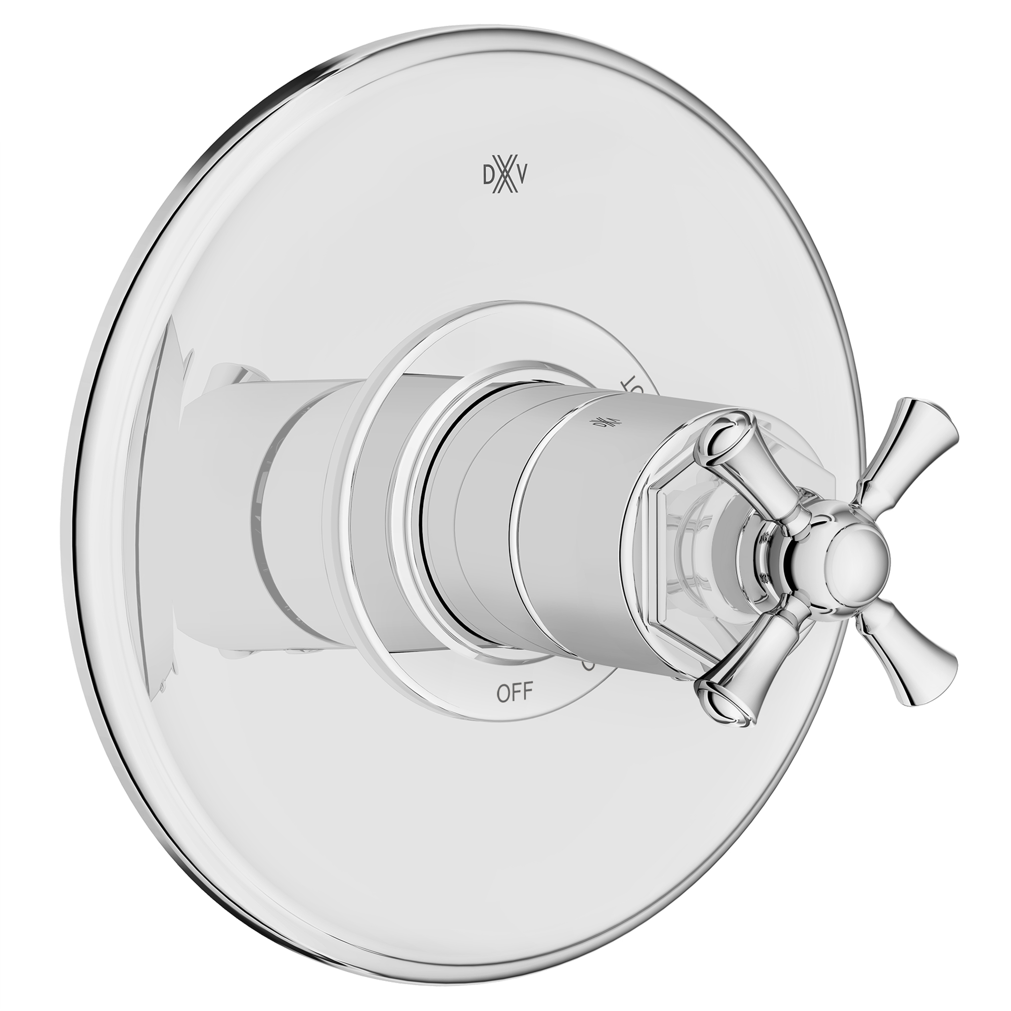 Pressure Balance Shower Valve With Cross Handles