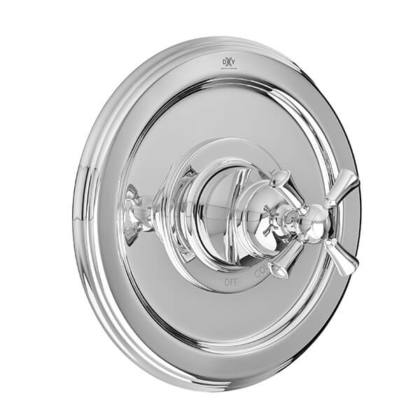 Randall Pressure Balanced Shower Valve Trim with Cross Handle