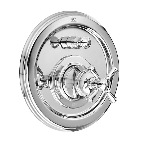 Randall Pressure Balanced Tub/Shower Valve Trim with Cross Handle