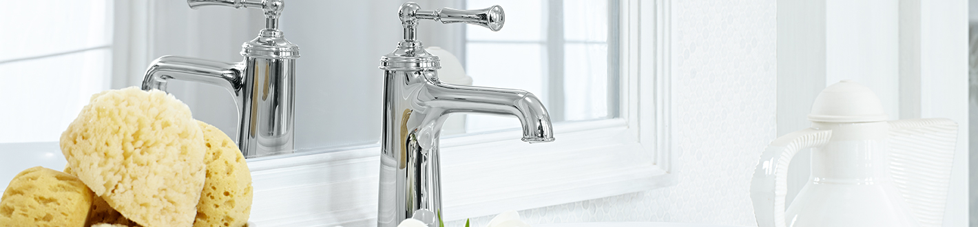DXV Randall Vessel Faucet without Drain Banner