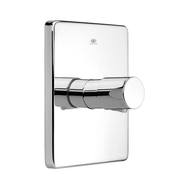 DXV Rem 1/2 Inch or 3/4 Inch Thermostatic Valve Trim - Polished Chrome