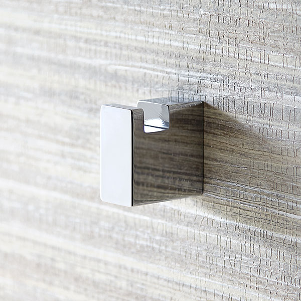 DXV Rem Robe Hook Room Scene- Polished Chrome