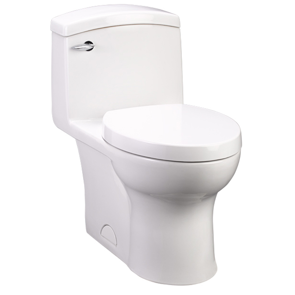 Lowell One Piece Elongated Toilet