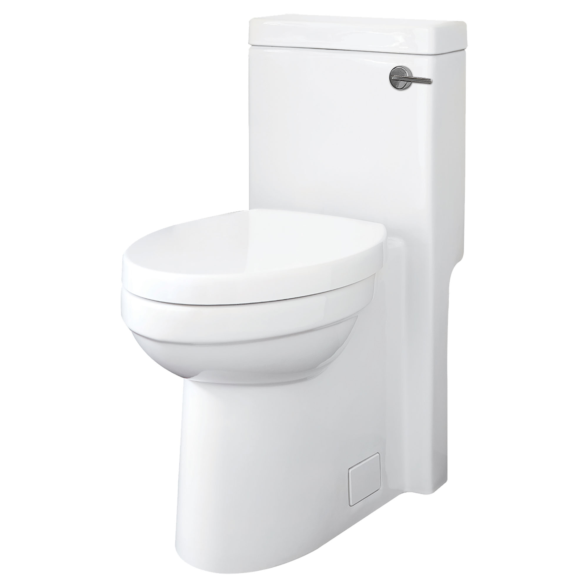 Cossu Elongated One-Piece Toilet with Right-Hand Trip Lever - Projects Model