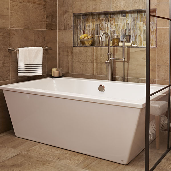 Soaking Tubs- Cossu Freestanding Soaker Tub with Deck from DXV