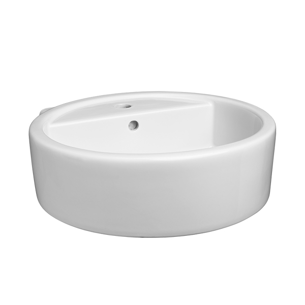 Cossu Round Single Hole Bathroom Sink