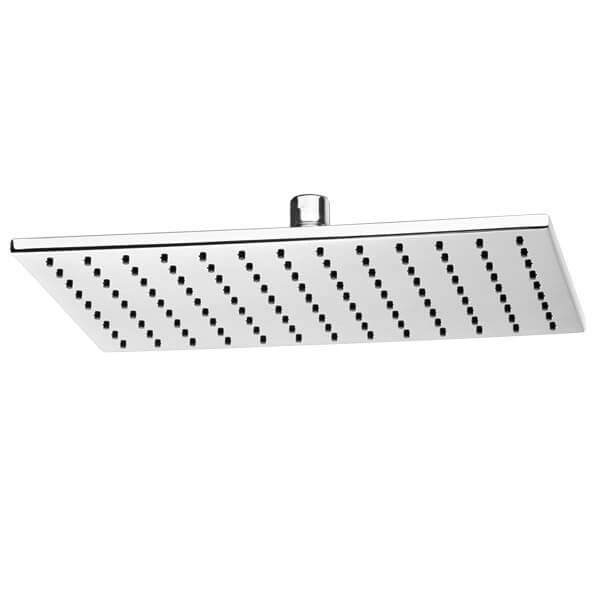 Pomme de douche fine rectangle 12 po