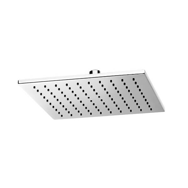 DXV Slim Square 10 Inch Showerhead - Polished Chrome