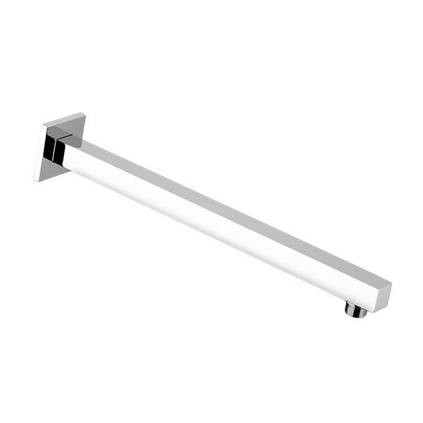 DXV Slim Square 16 Inch Shower Arm - Polished Chrome
