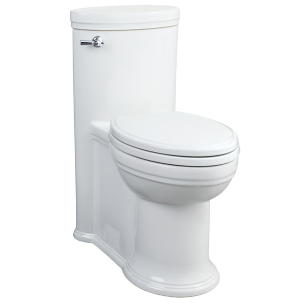 DXV St. George One-Piece Elongated Toilet - Canvas White