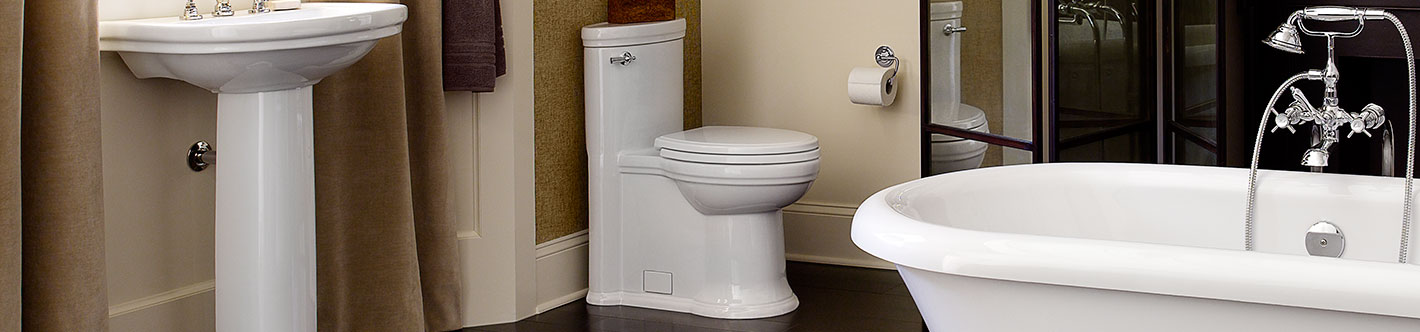 DXV St. George One-Piece Elongated Toilet Banner