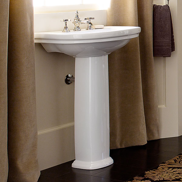 St. George Pedestal Bathroom Sink