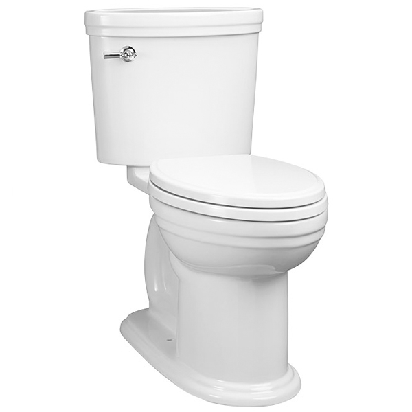 DXV St. George Two-Piece Elongated Toilet - Canvas White