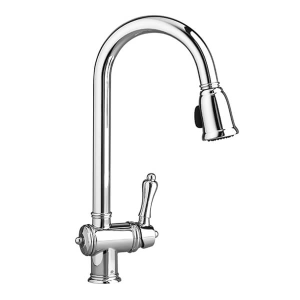 Victorian Pull-Down Kitchen Faucet
