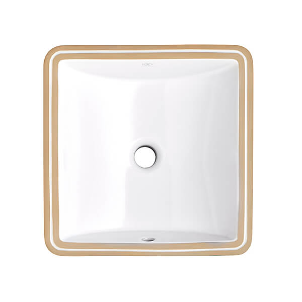 Webster Under Counter 16 Inch by 16 Inch Bathroom Sink