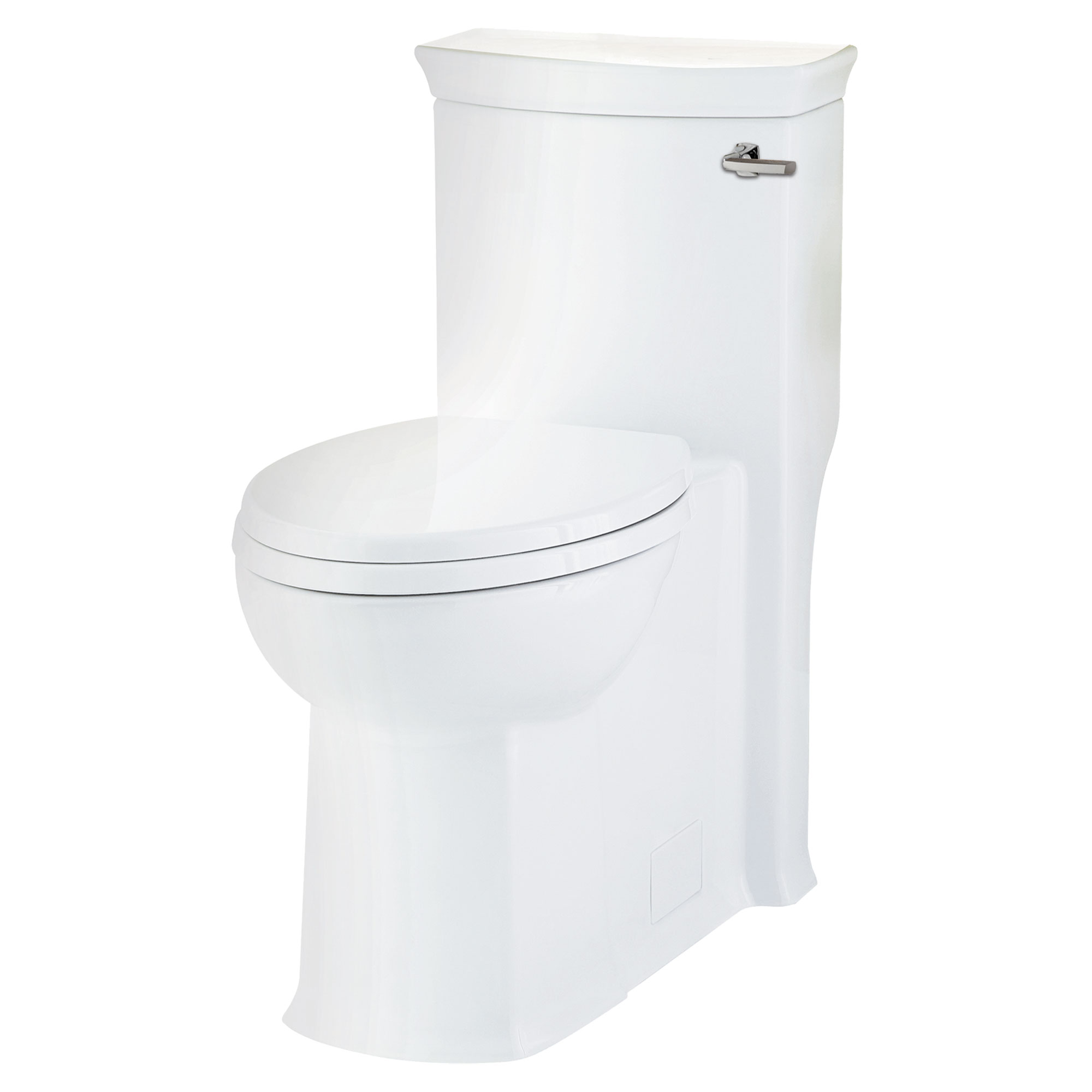 Wyatt Elongated One-Piece Toilet with Right-Hand Trip Lever - Projects Model