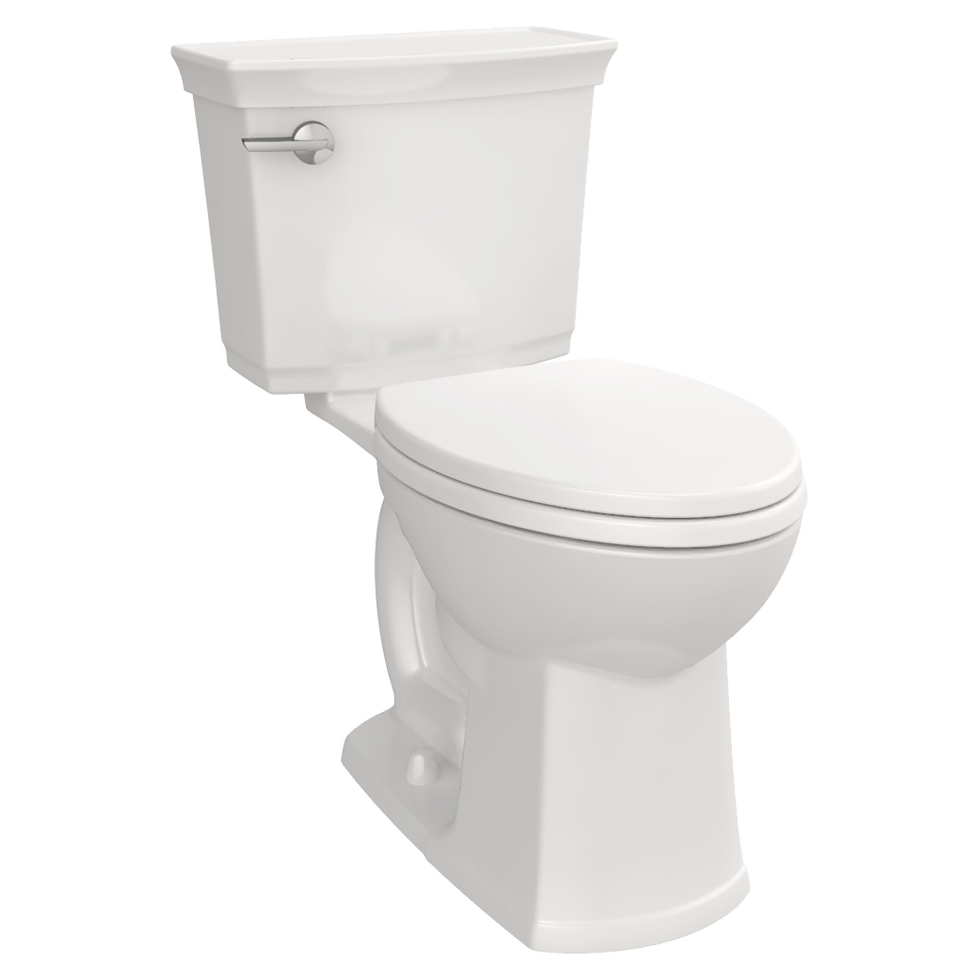 Wyatt Two-Piece Elongated Toilet with Left Hand Trip Lever