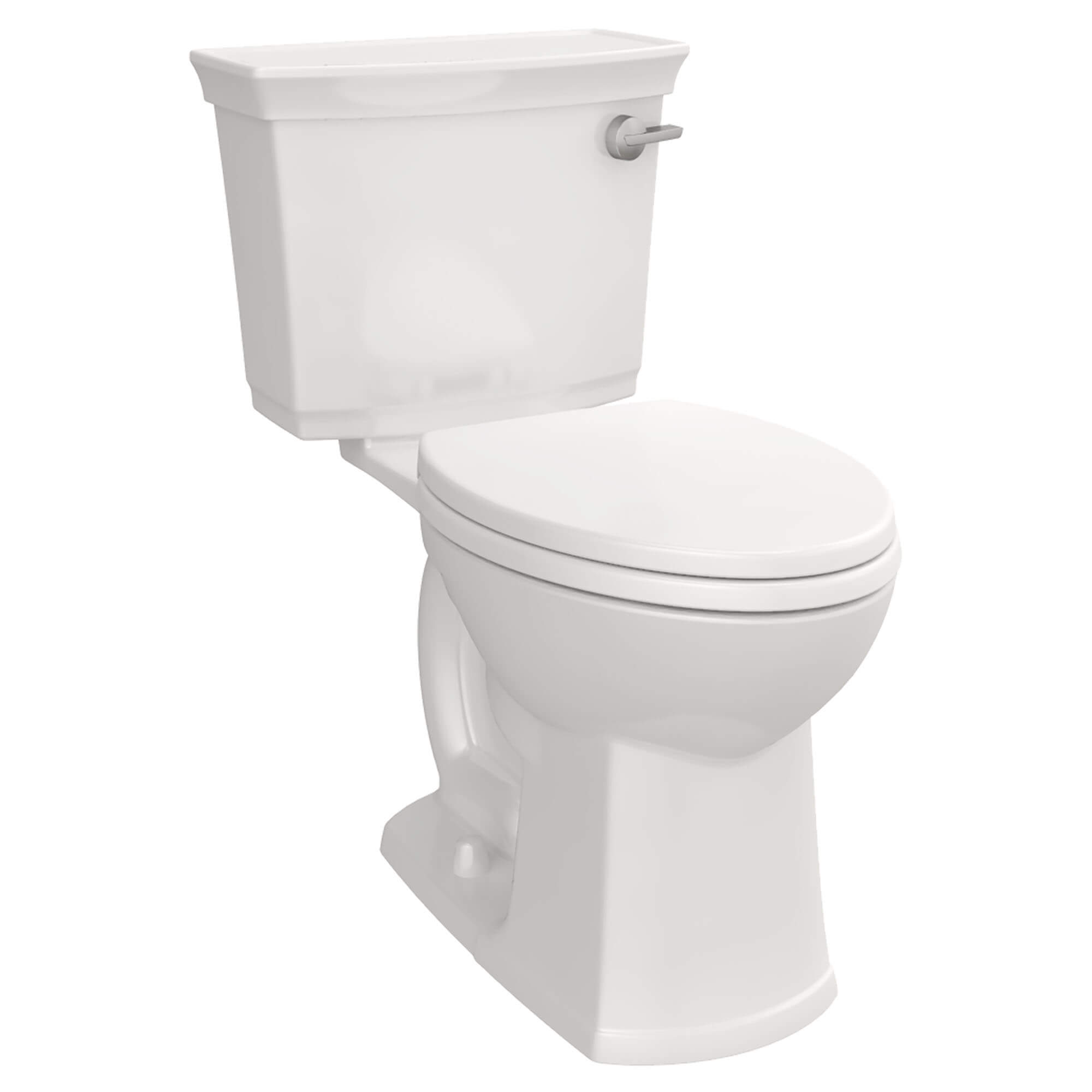 Wyatt Two-Piece Elongated Toilet with Right-Hand Trip Lever
